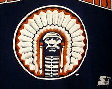 UNIVERSITY ILLINOIS med crewnk sweatshirt Fighting Illini alternate logo Starter