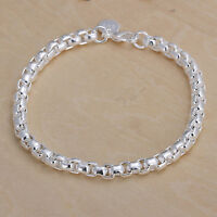 Damenarmband Ankerkette 20 cm Damen Armband pl. mit Sterlingsilber DA157 T::A