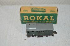 RARE WAGON A BAGAGES G 255  ROKAL TT MODELISME TRAIN BOITE GEPACKWAGEN DB 2