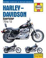 Harley-Davidson Sportster '70 to '13 Repair Manual, Paperback by Schauwecker,...