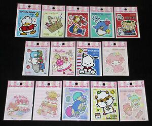 Japan Sanrio Characters Mix Vinyl Sticker (M)