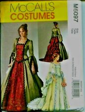 Reduced! M 6097 Victorian/Renaissance Costume/Wedding Gown Pattern 6-12 or 14-20
