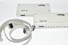Märklin 6088 2 Stück S88 Rückmelde Decoder. 2er Set mit Kabel