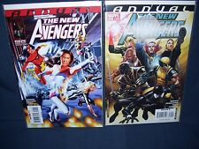 The New Avengers Annual #2 (2008) Annual #3 (2010) Nm with Bag and Board Marvel