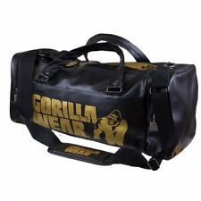 Gorilla Wear Gym Bag Gold Edition Sporttasche Tasche Schwarz black