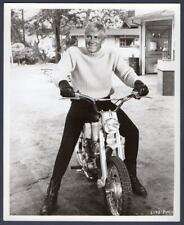 ARON KINCAID motorcycle SKI PARTY Frankie Avalon film ORIG PHOTO handsome actor