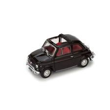 FIAT 500 L 1968-72 APERTA MARRONE 1:43 Brumm Auto Stradali Die Cast Modellino