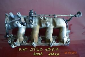 COLLETTORE DI ASPIRAZIONE FIAT STILO 2002 1.9 JTD 110 CV COD 46761259
