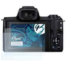 Bruni 2x Schermfolie voor Canon EOS M50 Screen Protector Displaybeveiliging