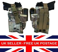 ATP MTP Multicam Molle Pistol Holster & Mag Pouch - Airsoft Army Military Gun