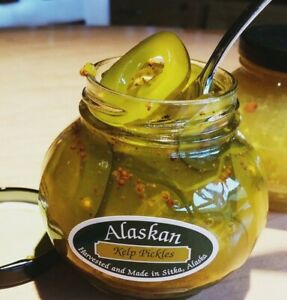 4 Jars • 6.75 oz Alaskan Kelp Pickles