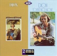 CD SEALED Sit Down Old Friend/You're Not Alone by Dion ACE