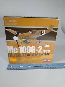 Dragon Wings 1:72 Die-Cast Plane 50087 Me 109G-2 Trop III./JG North Africa 1942