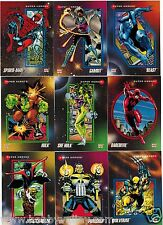 1992 MARVEL UNIVERSE SERIES III 3 IMPEL COMPLETE CARD SET #1-200 X-Men