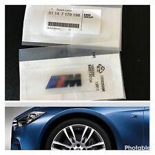 BMW 2x /// M Sport Emblem Black M Sticker Side Wing M Power Badge Decoration