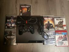 PlayStation 3 Slim (PS3) 160GB console +1 controler + 4 games of your choice!