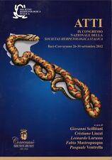 Atti IX Convegno Nazionale Erpetologia Bari-Conversano 2012