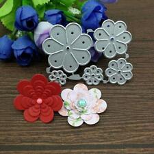 Flower Petals Metal Cutting Dies Stencil Scrapbooking DIY Album Stamp Paper Card