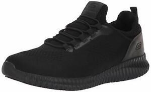 Skechers Men's Cessnock Food Service Shoe, Black, Size 11.5 QQUU