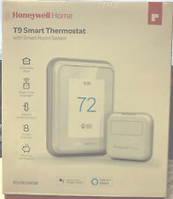 NEW HONEYWELL T9 SMART THERMOSTAT W/ SMART ROOM SENSOR RCHT9610WFSW