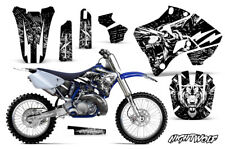 Yamaha YZ125 YZ250 Dirt Bike Graphic Sticker Kit Decal Wrap MX 96-01 NIGHTWOLF W