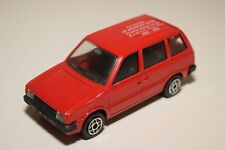 A2 1:43 SOLIDO NISSAN PRAIRIE 10 YEARS NAMAC REGIO WEST RED NMINT CONDITION RARE