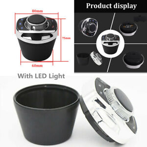 8-Key LED Cup Shape Wireless Steering Wheel Control Button For Car Stereo Player
