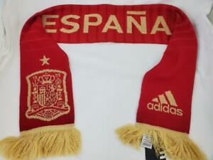 Spain National Football Team Adidas Soccer Scarf Espana
