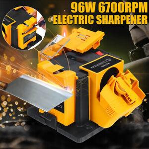 96W Electric Household Sharpener Tool Multifunctional Drill Bit Grinder