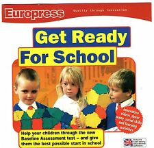 GET READY FOR SCHOOL   Age 4 - 5   Windows 95 98 2000 ME XP (7 8 10 see listing)
