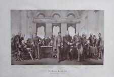 Werner: Der Berliner Congreß 1878 - Originaldruck aus 1895 print