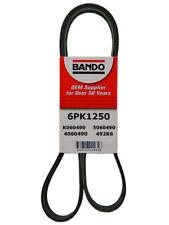 Serpentine Belt-Rib Ace Precision Engineered V-Ribbed Belt BANDO 6PK1250