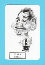 Clark Gable Movie Film Star Spanish Caricature Card