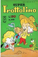 SUPER TROTTOLINO N. 40 del 1963 Edizioni Bianconi (con storia di GEPPO)