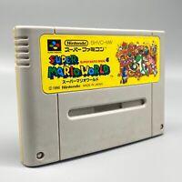 Jeu - Super Mario World - Nintendo - JAPANESE - SFC - Super Famicom SNES
