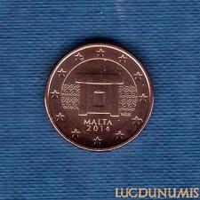 Malte 2014 - 1 Centime D'Euro - Pièce neuve de rouleau - Malta