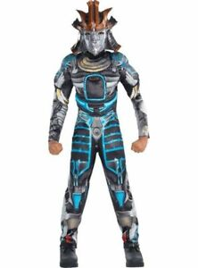 Drift Muscle Costume Adult Men Standard One Size Halloween Party Transformers M