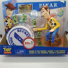 Pixar Disney Toy Story Woody & The Troops 2-Pack Bucket O Soldiers Mattel