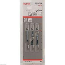 Bosch Jigsaw blade U 19 BO Basic for Wood 2608630567