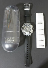 Swatch Irony Scuba 200 Chrono Uhr YBS4000 Black Russian - neu in Box - MIB