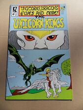 Unicorn King 1 . KZ Comics 1986 . FN +