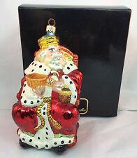Christopher Radko Old King Cole Glasss Ornament Rare 99-162-0