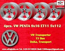 4 Cerchi AMG Volkswagen Penta 8x16 ET11 T3 Transporter Wheels Felgen Jantes TÜV