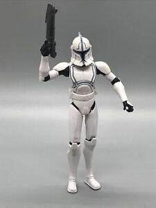 Hardcase 2012 Clone Wars Republic Trooper Star Hasbro figure TCW gray blue