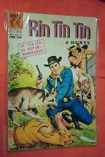 RINTINTIN E RUSTY -N°19- DA L.100- SERIE TV- DEL 1970 -ED.CENISIO- (rin tin tin)