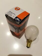Osram Special Oven Light Bulb 40W 240V E14/SES Frosted