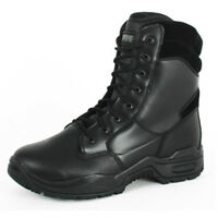 CHAUSSURES MAGNUM STEALTH 2 LEATHER CUIR TAILLE 48 GENDARMERIE POLICE NOIR PROMO