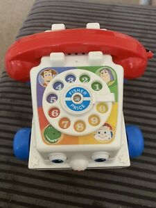 Disney Toy Story 3 Fisher Price Chatter Phone Telephone Talking Toys working