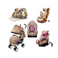 Baby Toddler Flowers Buggy Stroller Pushchair &Raincover or Carseat Groups 1/2/3