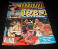 Vintage Sports Review Wrestling WWE WCW WWF Magazine Wrestler Ultimate Warrior